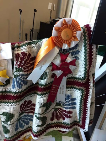 District 1 People S Choice 2019 Afghan Phyllis Guller Oh Eastern Star Home